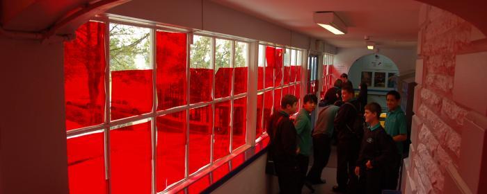 colouring the corridors