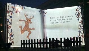 Deer: Leeds Light Night 2014